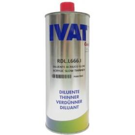 Diluente acrilico lento universale S666 IVAT LT.1