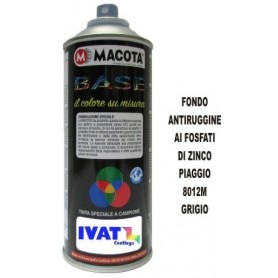 Bomboletta spray Fondo Antiruggine Grigio 8012M ML.400