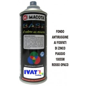 Bomboletta spray Fondo Antiruggine Rosso 10055M ML.400