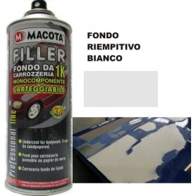 Bomboletta spray Macota Filler fondo BIANCO ml. 400