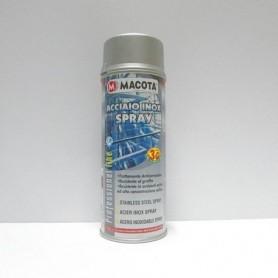 Bomboletta spray Macota Acciaio inox vernice protettiva ml. 400