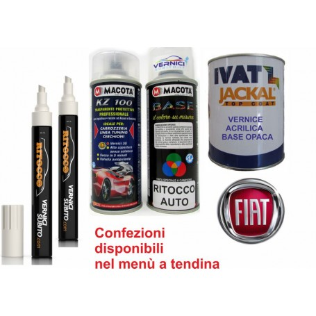 Vernice base opaca - Fiat  681 ARDESIA MET