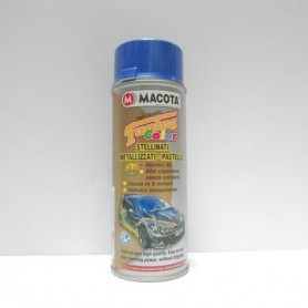 Bomboletta spray Macota Tuning Color smalto Blu Stellinato ml. 400