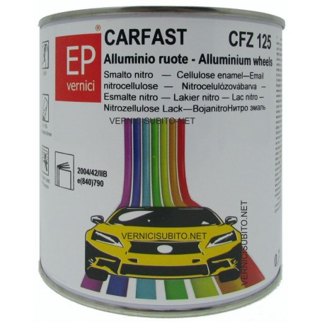 Smalto nitro Alluminio Ruote Kg. 0,750 EP CARFAST CFZ 125