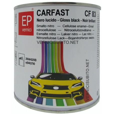 Smalto nitro Nero Lucido Kg. 0,750  EP CARFAST CF 83