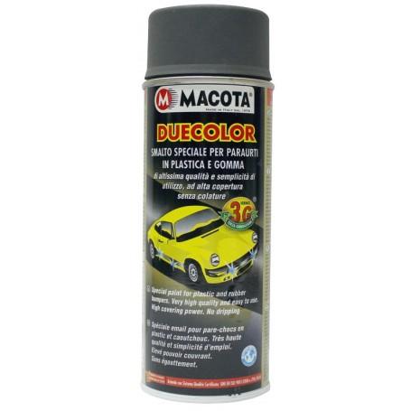 Bomboletta spray   per paraurti in plastica e gomma Antracite ml. 400 Macota Duecolor  02092