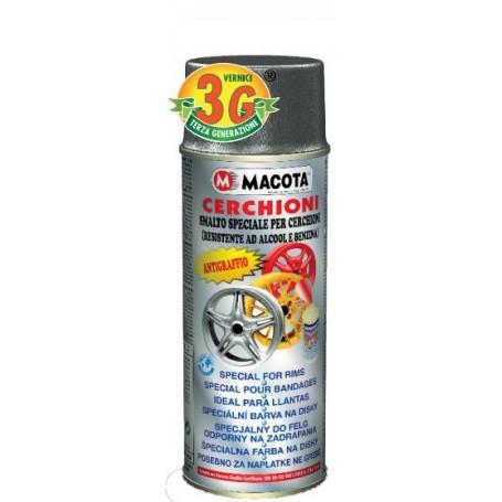 Bomboletta spray Macota Cerchioni smalto speciale per cerchioni ml. 400