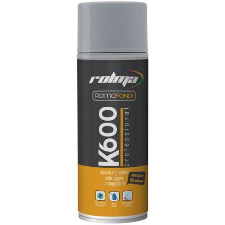 Stucco spray anticorrosivo K600 ROLMA ML 400