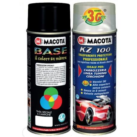 Bomboletta spray per il ritocco auto (Kit base + trasparente)