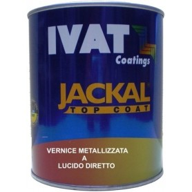 Vernice metallizzata  acrilica a lucido diretto Ivat 2K ml. 200