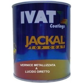 Vernice metallizzata  acrilica a lucido diretto Ivat 2K ml. 500