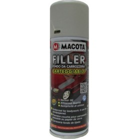 Bomboletta spray Macota Filler fondo da carrozzeria carteggiabile ml. 200