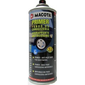 Bomboletta spray Macota Primer fondo da carrozzeria aggrappante antiruggine Bianco ml. 400