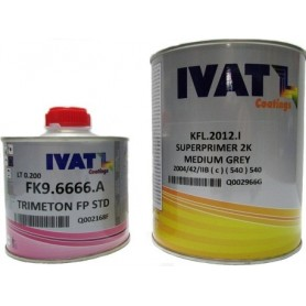 Superprimer Ivat 2K KFL.2012.I Medium Grey con catalizzatore lt. 1
