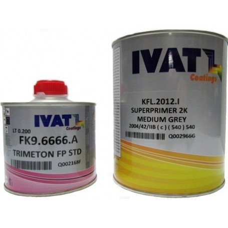 Superprimer Ivat 5:1  con catalizzatore lt. 1+200ml