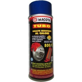 Bomboletta spray Macota Tubo vernice alta temperatura BLU  ml. 400 8608