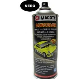 Bomboletta spray   per paraurti in plastica e gomma nero ml. 400 Macota Duecolor  02093