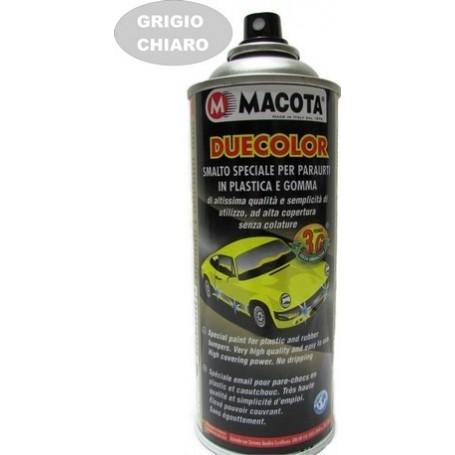 Bomboletta spray   per paraurti in plastica e gomma grigio ch. ml. 400 Macota Duecolor  02090