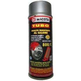 Bomboletta spray Macota Tubo vernice alta temperatura Argento ml. 400 08108