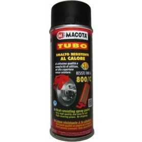 Bomboletta spray Macota Tubo alta temperatura Nero ml. 400 08008