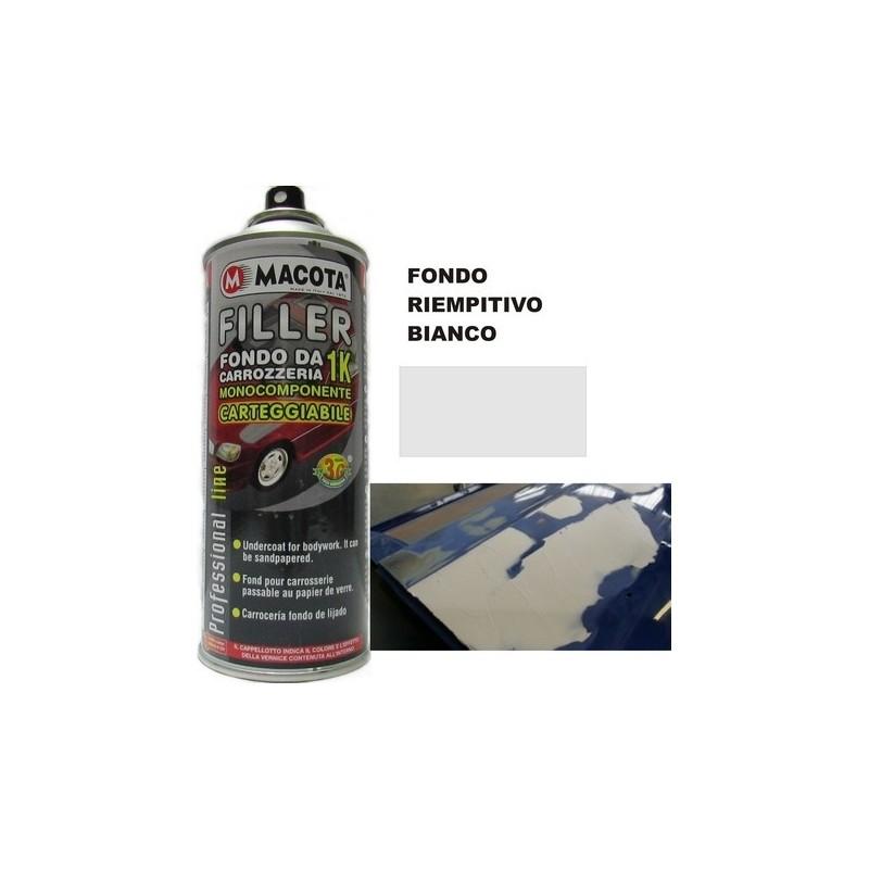 Bomboletta spray Macota Filler fondo BIANCO ml. 400