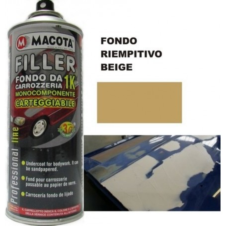 Bomboletta spray Macota Filler fondo GRIGIO SCURO ml. 400