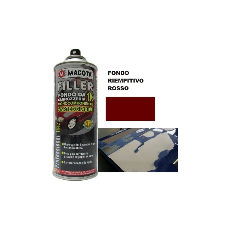 Bomboletta spray Macota Filler fondo BEIGE ml. 400