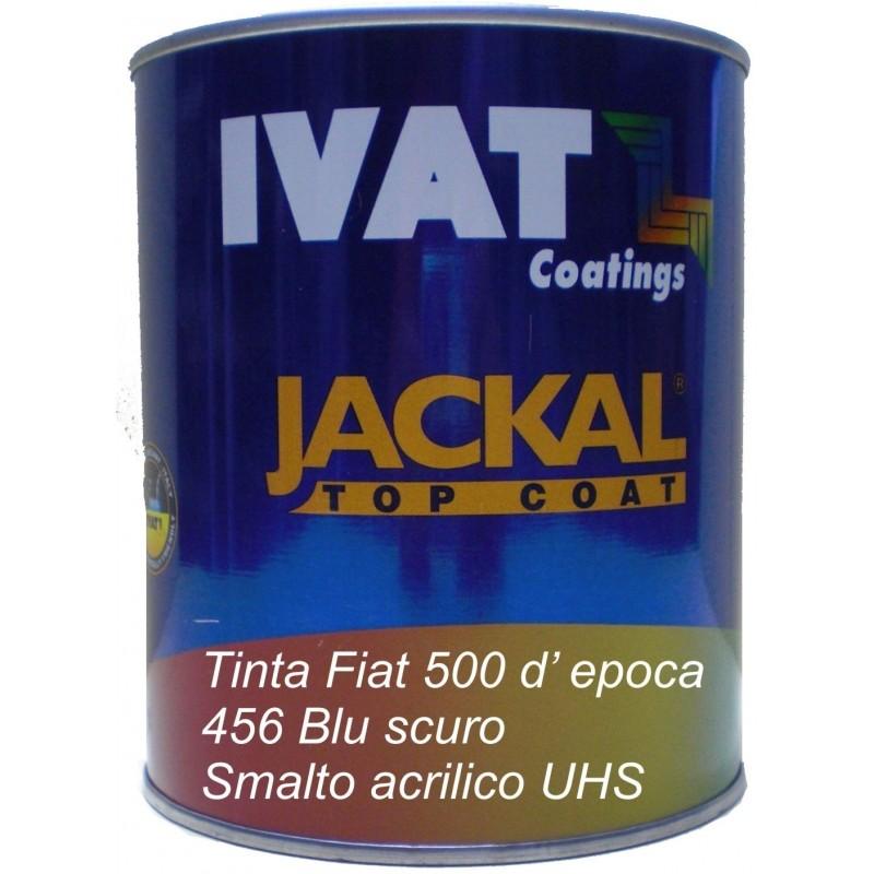 Smalto pastello tinta Fiat 456 Blu Scuro lt. 1