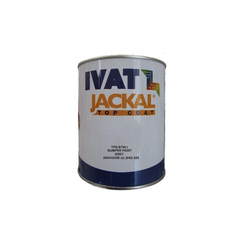 Vernice acrilica per plastiche Bumper paint GREY  lt.1