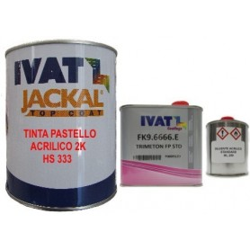 kit Vernice-smalto pastello Fiat 601 Nero Profondo/Luxor/Donatello/Cattivo