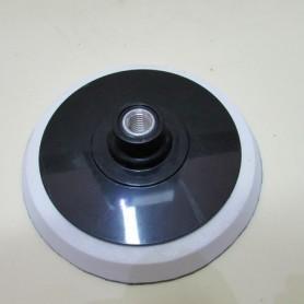 Platorello velcrato in gomma ⊘ 120 per tamponi da lucidatura